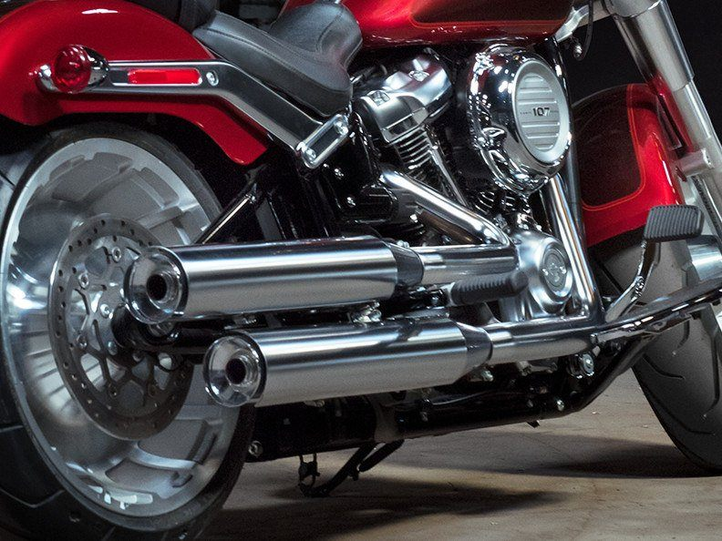 2018 Harley-Davidson Fat Boy®107 in Rothschild, Wisconsin