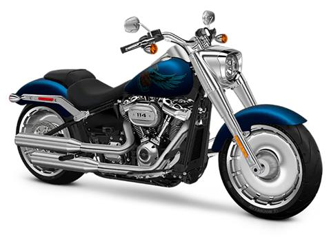 2018 Harley-Davidson 115th Anniversary Fat Boy® 114 in Osceola, Iowa