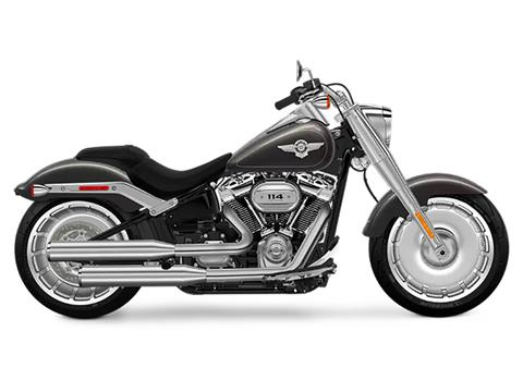 2018 Harley-Davidson Fat Boy®114 in Pittsfield, Massachusetts