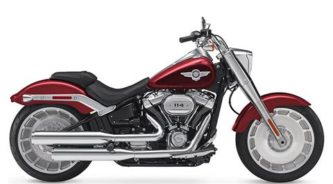 2018 Harley-Davidson Fat Boy® 114 in Augusta, Maine