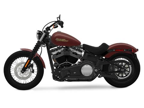 2018 Harley-Davidson Street Bob® 107 in Pittsfield, Massachusetts