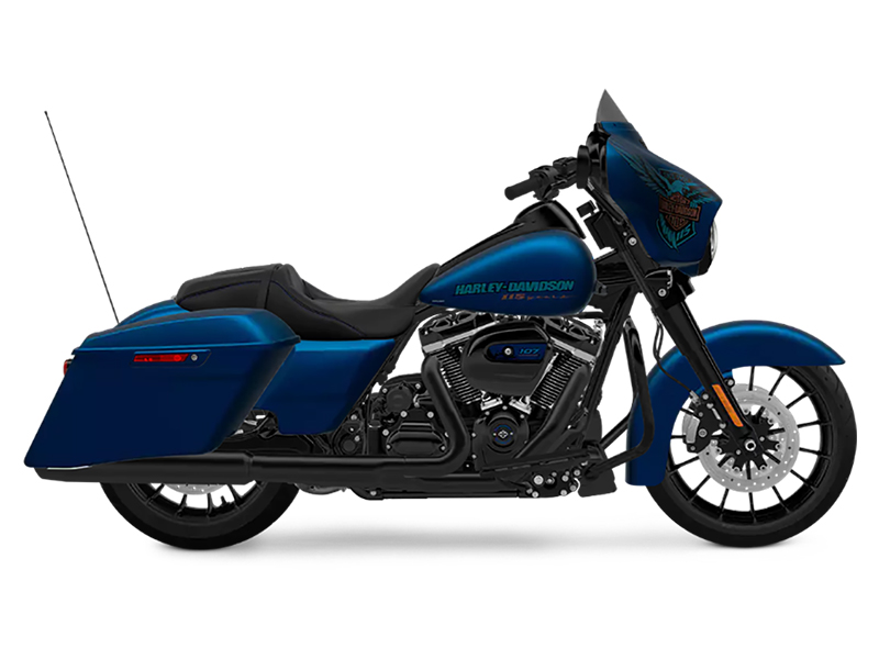 2018 Harley-Davidson 115th Anniversary Street Glide® Special in Washington, Utah