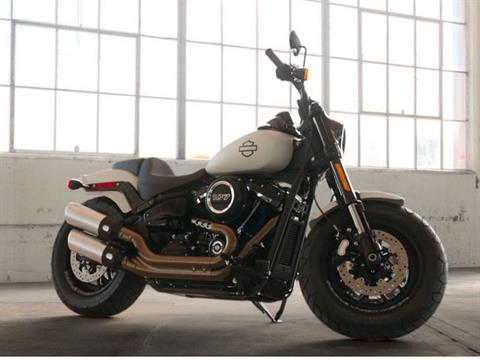 2019 Harley-Davidson Fat Bob® 107 in Augusta, Maine