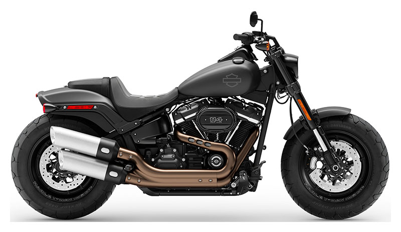 2019 Harley-Davidson Fat Bob® 114 in Lynchburg, Virginia