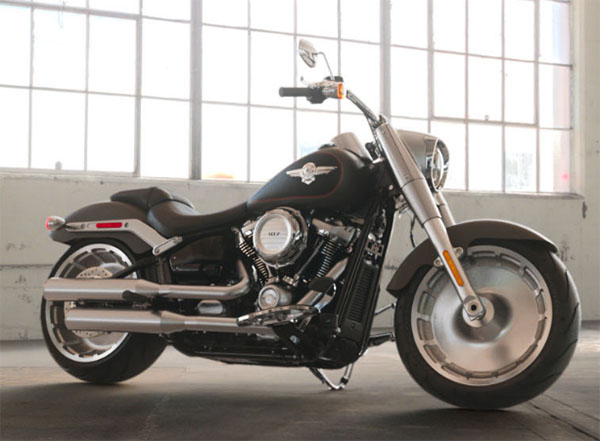 2019 Harley-Davidson Fat Boy® 107 in New York Mills, New York