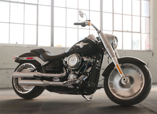 2019 Harley-Davidson Fat Boy® 107 in Pittsfield, Massachusetts