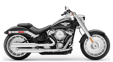 2019 Harley-Davidson Fat Boy® 107 in Beaver Dam, Wisconsin