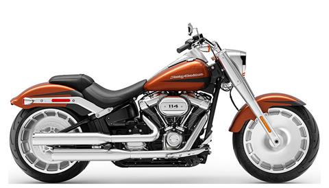 2019 Harley-Davidson Fat Boy® 114 in Ames, Iowa