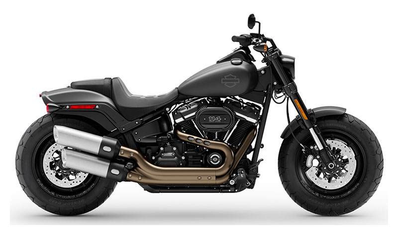 2020 Harley-Davidson Fat Bob® 114 in Augusta, Maine - Photo 1