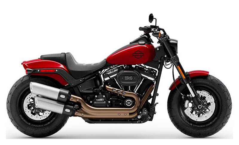 2021 Harley-Davidson Fat Bob® 114 in Augusta, Maine - Photo 1