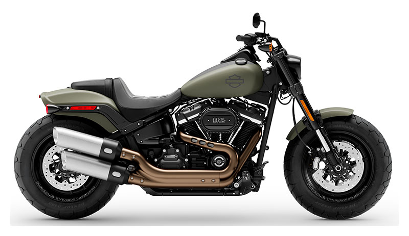 2021 Harley-Davidson Fat Bob® 114 in Dubuque, Iowa - Photo 1