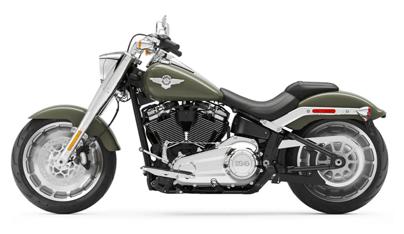 2021 Harley-Davidson Fat Boy® 114 in Plainfield, Indiana - Photo 2