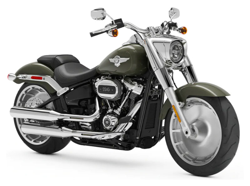 2021 Harley-Davidson Fat Boy® 114 in Plainfield, Indiana - Photo 3