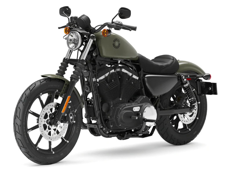 2021 Harley-Davidson Iron 883™ in Augusta, Maine - Photo 4