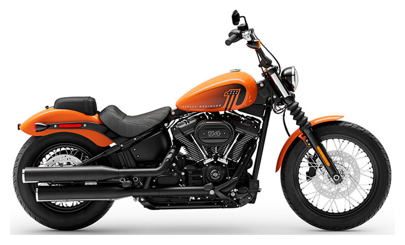 2021 Harley-Davidson Street Bob® 114 in Portage, Michigan - Photo 1