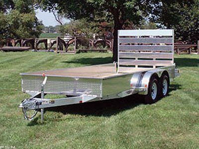 2009 H&H Open Aluminum Flatbed in Scottsbluff, Nebraska