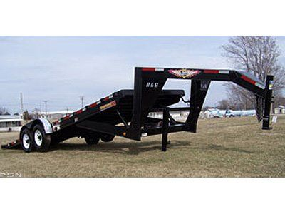 2009 H&H T8.5HD24 GOOSENECK EX in Scottsbluff, Nebraska