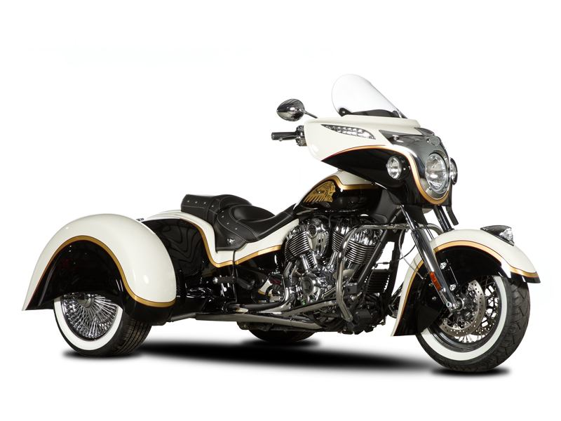 2017 Hannigan Indian Chieftain, Vintage, & Classic Trike Conversion in Winchester, Tennessee