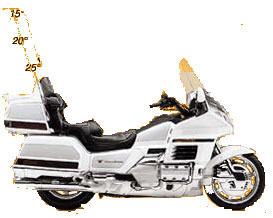 1999 Honda Gold Wing SE in Greeneville, Tennessee