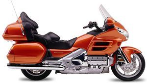 2002 Honda Gold Wing in Rice Lake, Wisconsin