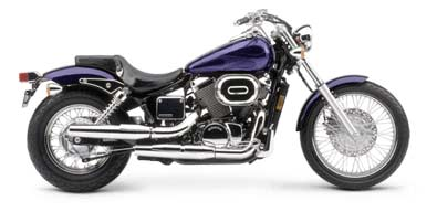 2003 Honda Shadow Spirit 750 in Long Island City, New York