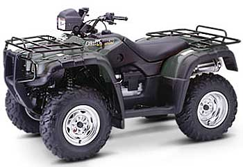 2004 Fourtrax Foreman Rubicon GPScape