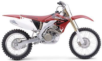 2004 Honda CRF450R in Johnson City, Tennessee