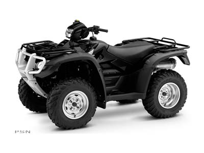 2009 FourTrax Foreman Rubicon GPScape EPS