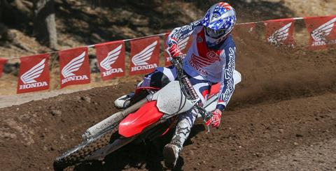 2015 Honda CRF®450R in Middlesboro, Kentucky