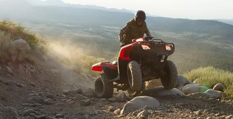 2016 Honda FourTrax Foreman 4x4 ES Camo in Grass Valley, California