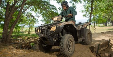 2016 Honda FourTrax Foreman 4x4 ES Camo in Fort Pierce, Florida