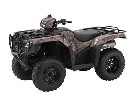 2016 Honda FourTrax Foreman 4x4 ES Camo in Greeneville, Tennessee