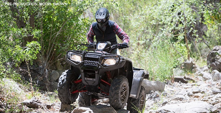 2016 Honda FourTrax Foreman Rubicon 4x4 in North Reading, Massachusetts - Photo 9