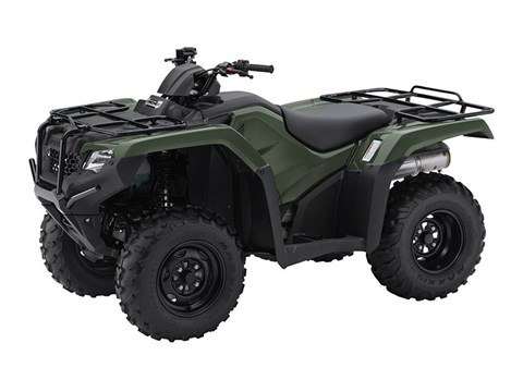 2016 Honda FourTrax Rancher 4x4 in North Reading, Massachusetts