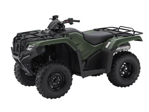 2016 Honda FourTrax Rancher 4X4 Automatic DCT in North Reading, Massachusetts