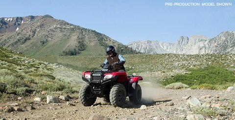 2016 Honda FourTrax Rancher 4X4 Automatic DCT IRS EPS in Dillon, Montana