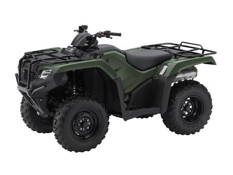 2016 Honda FourTrax Rancher 4x4 Power Steering in Brighton, Michigan