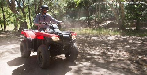 2016 Honda FourTrax Rancher 4x4 Power Steering in Delano, California