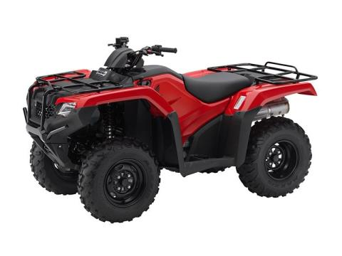 2016 Honda FourTrax Rancher 4x4 Power Steering in North Reading, Massachusetts