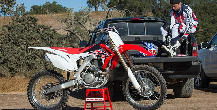 2016 Honda CRF450R in Tyrone, Pennsylvania - Photo 14