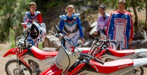 2016 Honda CRF125F in Huntington Beach, California
