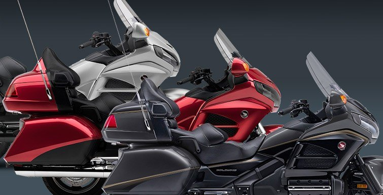 2016 Honda Gold Wing Airbag in Lapeer, Michigan