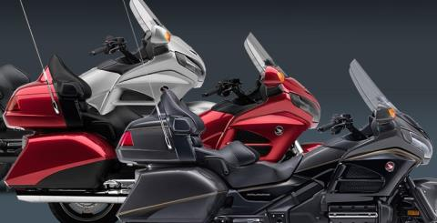 2016 Honda Gold Wing Airbag in Crystal Lake, Illinois