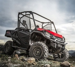 2016 Honda Pioneer 1000-5 Deluxe in Brighton, Michigan
