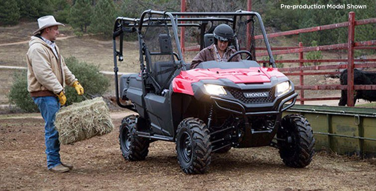 2016 Honda Pioneer 700-4 in Wichita Falls, Texas