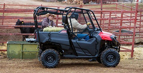 2016 Honda Pioneer 700-4 in Harrisburg, Illinois