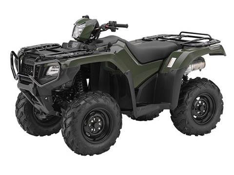 2017 Honda FourTrax Foreman Rubicon 4x4 DCT in Beloit, Wisconsin