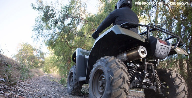 2017 Honda FourTrax Foreman Rubicon 4x4 DCT in Gridley, California