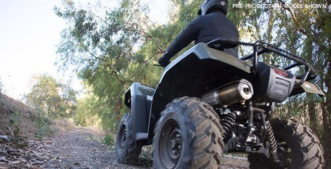 2017 Honda FourTrax Foreman Rubicon 4x4 DCT in Woodinville, Washington