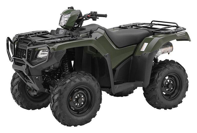 2017 Honda FourTrax Foreman Rubicon 4x4 DCT in Sauk Rapids, Minnesota